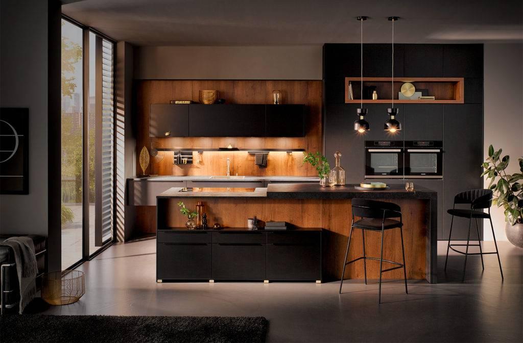 Hacker houten keuken